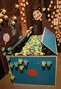 みかん箱にも菌いっぱい