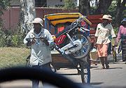 バイク人力車