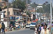 Fianarantsoa街中