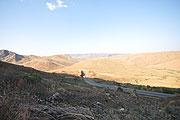 崖から見た風景