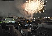 木曽川の花火大会