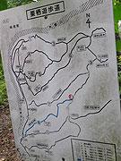 継鹿尾地図