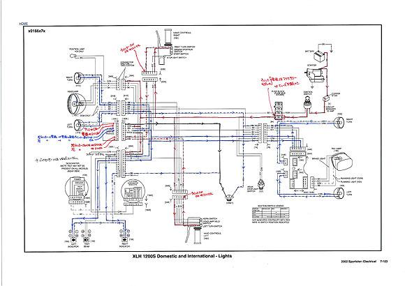 SM1 配線図 XLH 1200S Domestic and International - Light