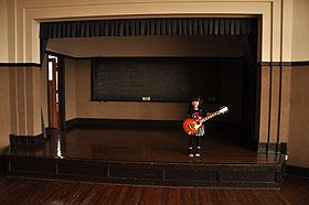 音楽室ステージ